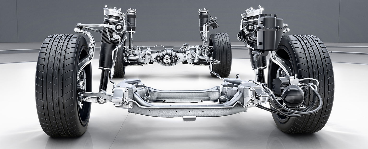 Mercedes Maybach Frame Components