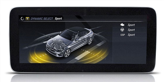 DYNAMIC SELECT dials in the car's performance