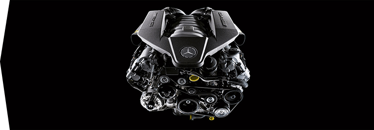 Mercedes AMG engine of change