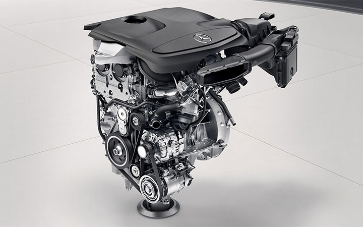 Mercedes Benz GLA SUV Engine