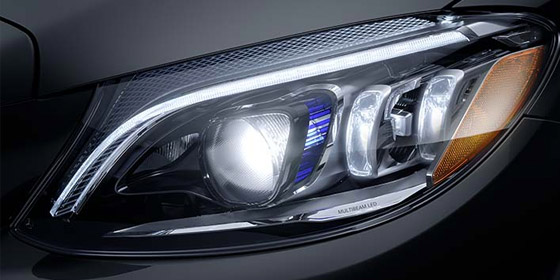 2019 Mercedes-Benz C-Class Cabriolet Multibeam LED Headlight