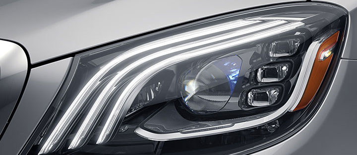 "Mercedes Maybach Headlight ""Stardust"" Effect"