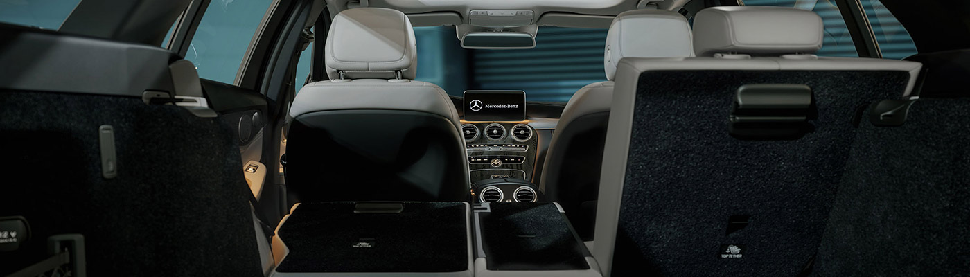 Interior of C-class Wagon back seat