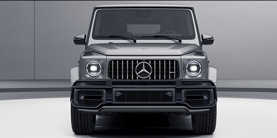 Front view of 2019 G-class AMG