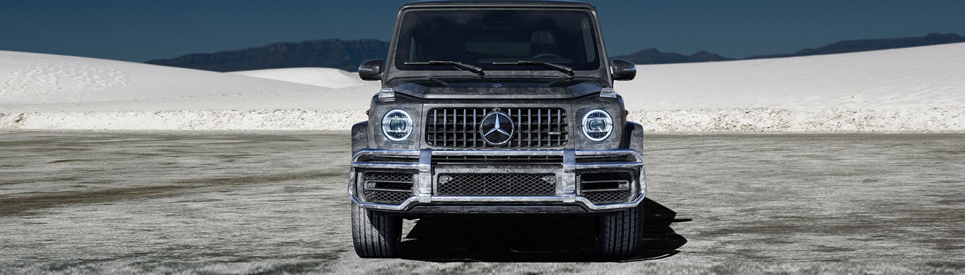 Front View of a 2019 G-class AMG