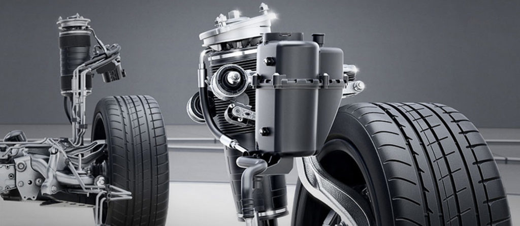 Mercedes-Benz AIRMATIC air suspension frame