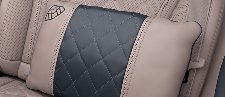 Mercedes Maybach Interior Pillow