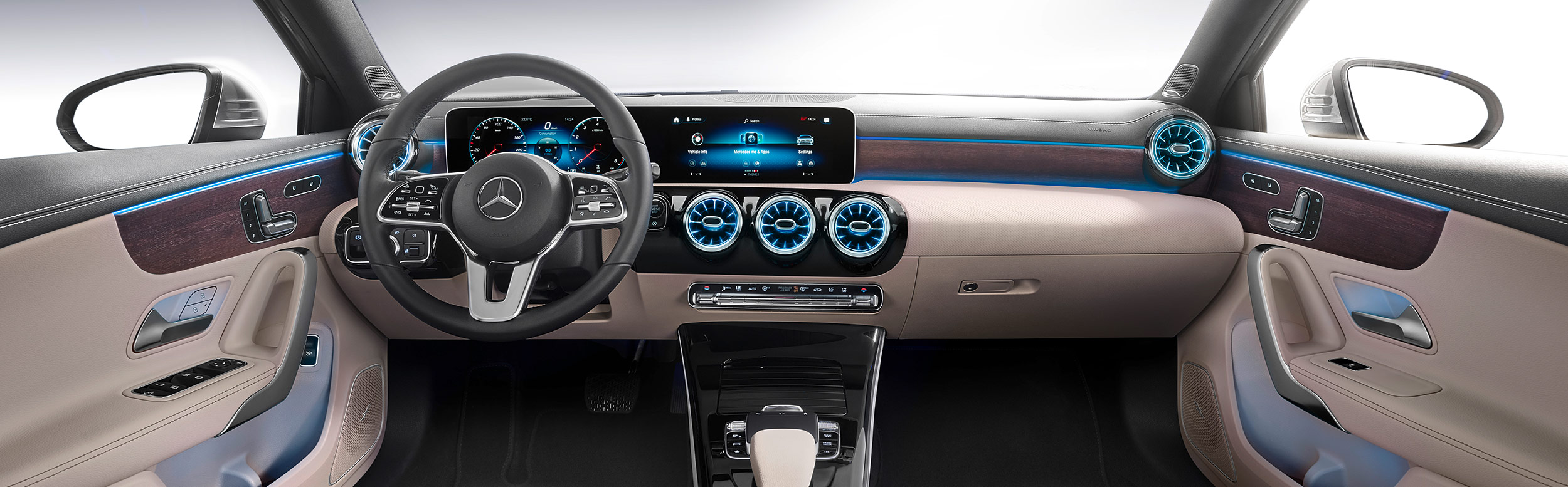Mercedes-Benz A-Class Sedan Interior Shot