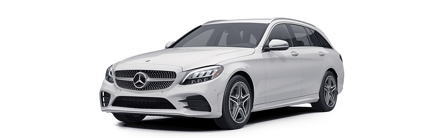 C-Class Wagon front 3/4 view