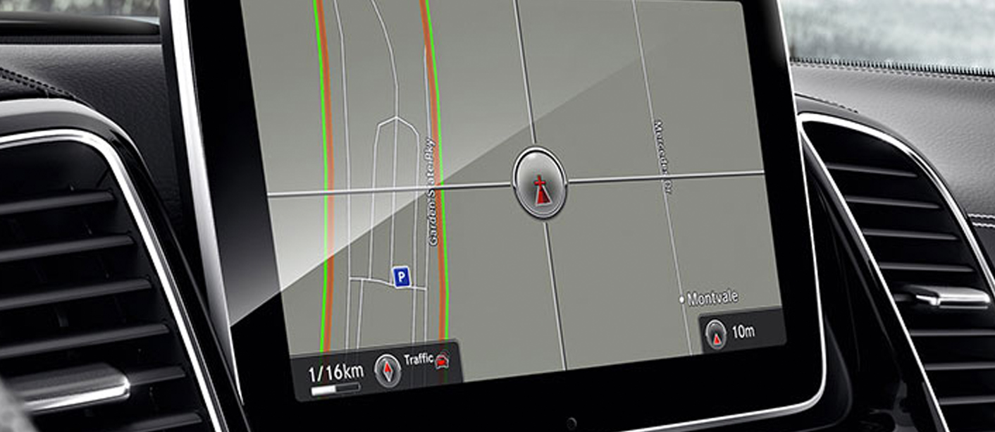 GLE Navigation screen