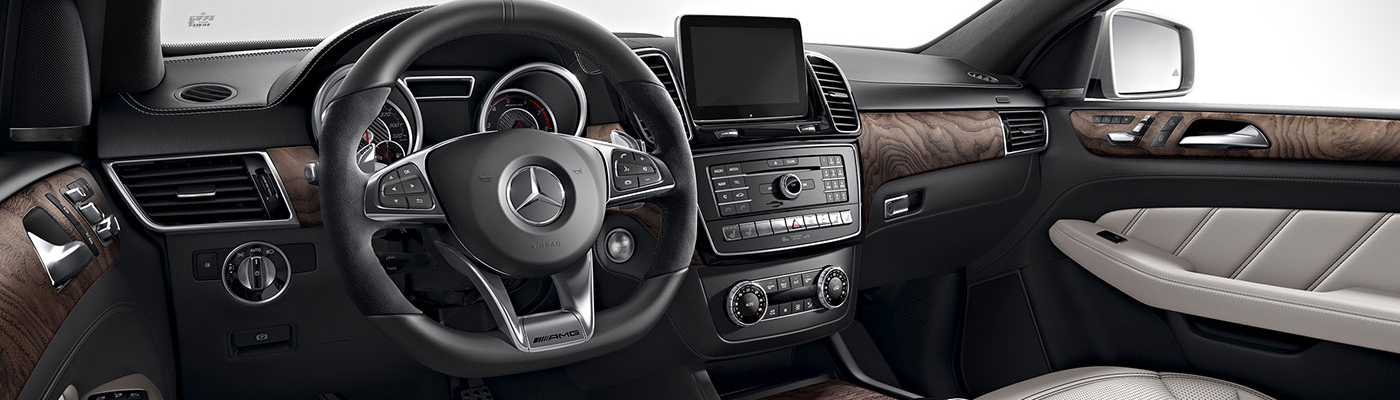 GLE Coupe Dashboard