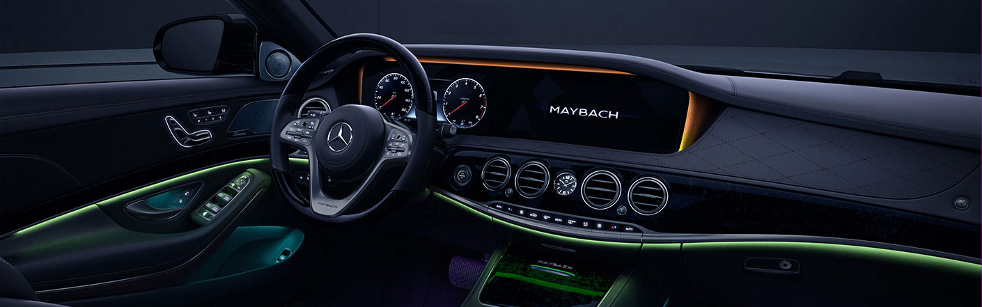 Mercedes Maybach Interior Lighting