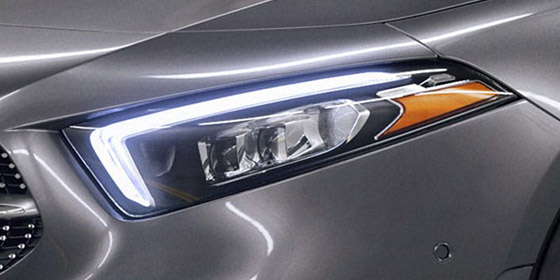 2019 A-class Front LED headlight