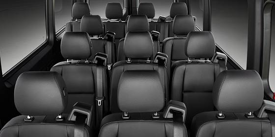 2019 Mercedes-Benz Sprinter Passenger Van seating capacity