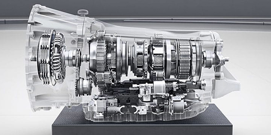 AMG SPEEDSHIFT TCT 9-speed transmission