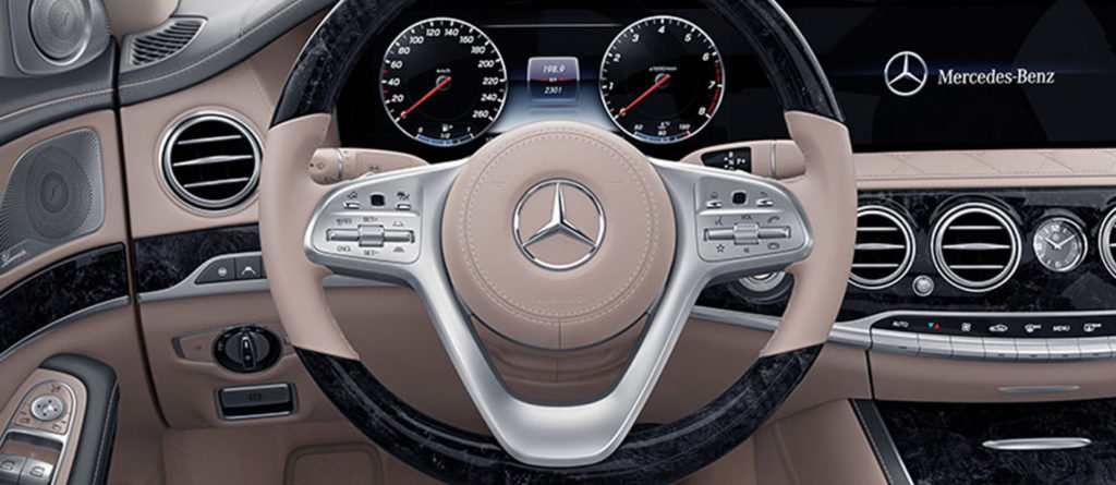 Mercedes-Benz S-Class Steering Wheel