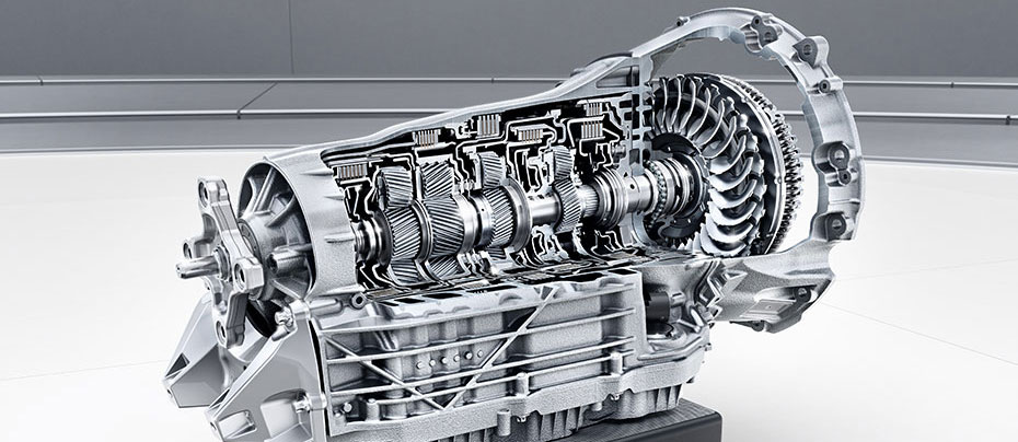 Mercedes Maybach Transmission