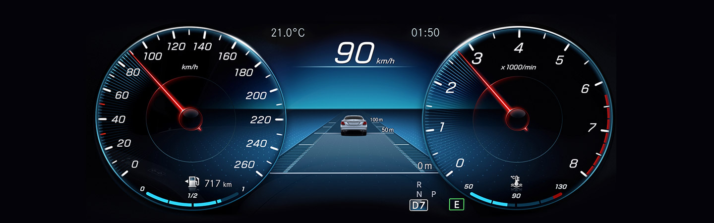 driver assist screen