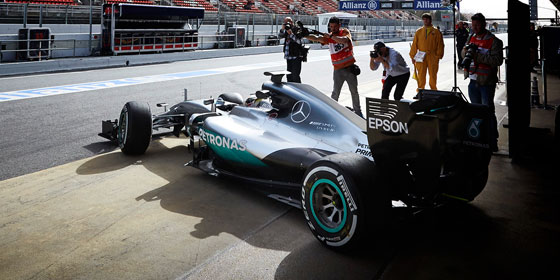 Mercedes Race Car