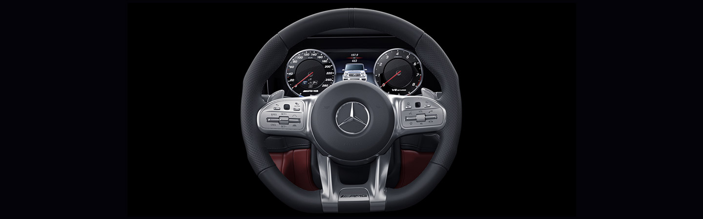 AMG Performance steering wheel