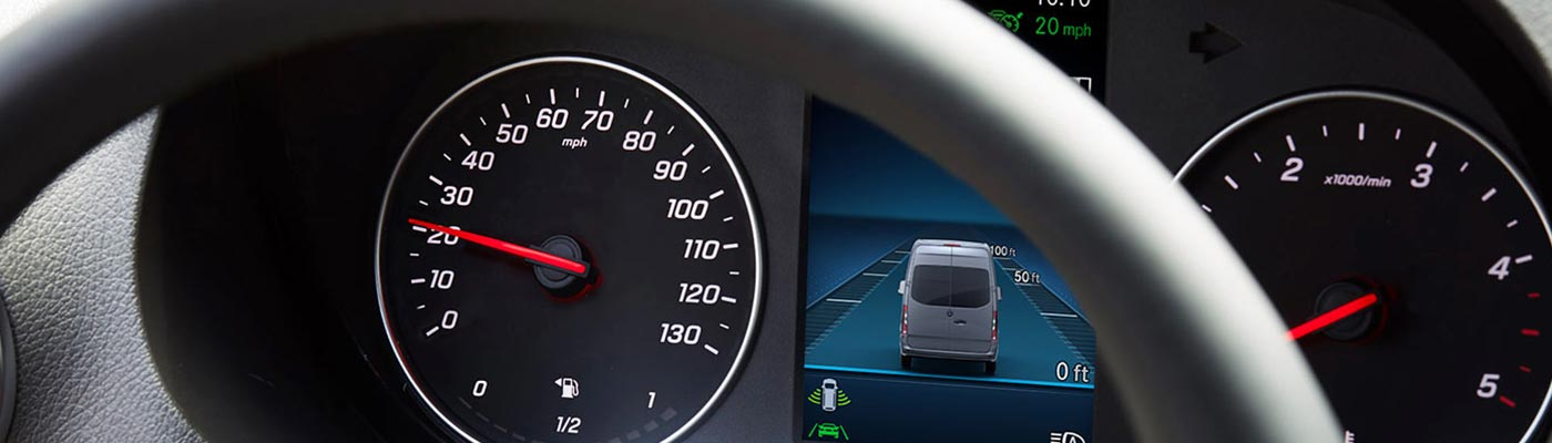 2019 Sprinter Crew dashboard gauges