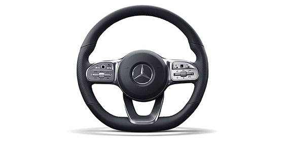 2019 C-class coupe steering wheel