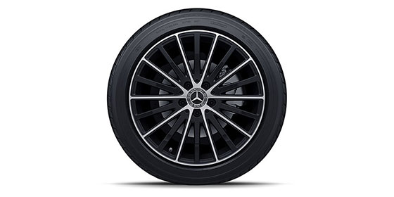 Mercedes 18-inch Rims and tires