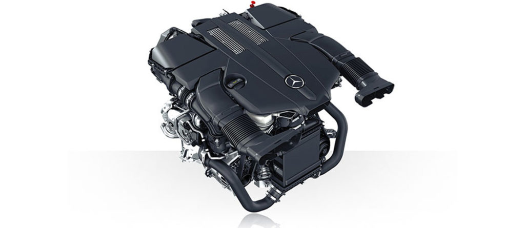 Mercedes-Benz S-Class Biturbo Engine