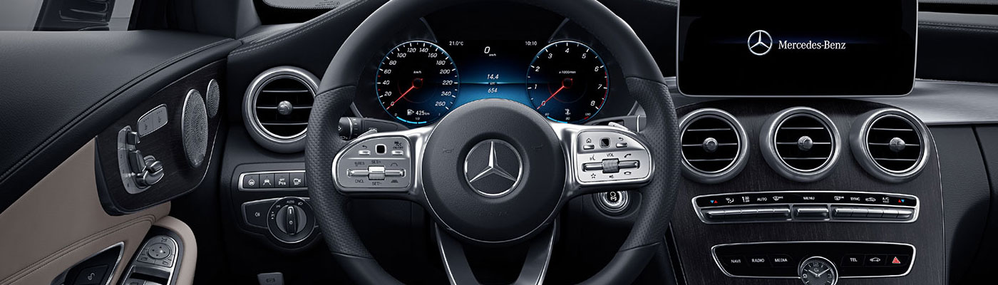 C-class coupe steering wheel