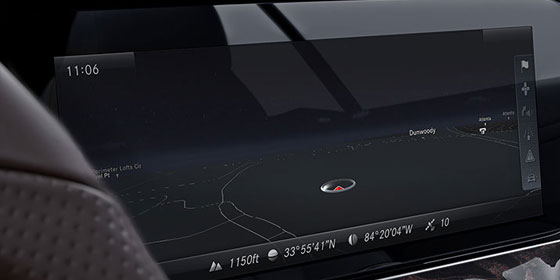 2019 E-class 12.3-inch digital screen