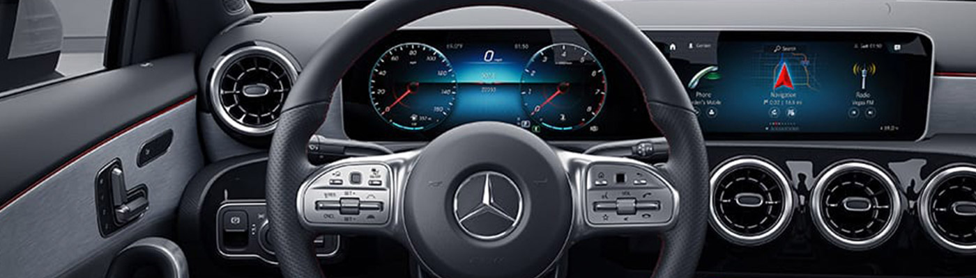 2019 A-class hatchback steering wheel