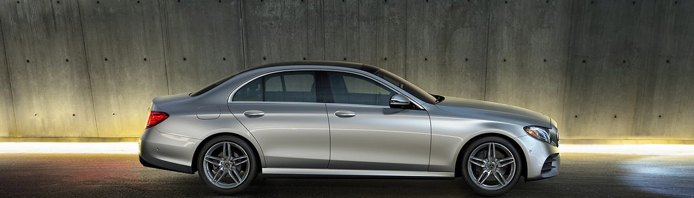 2019 E-class Sedan side view of Exterior