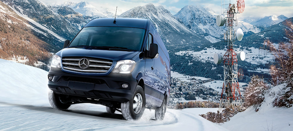 Mercedes benz fourgon sprinter 4x4 mercedes benz de qu bec for Mercedes benz de quebec