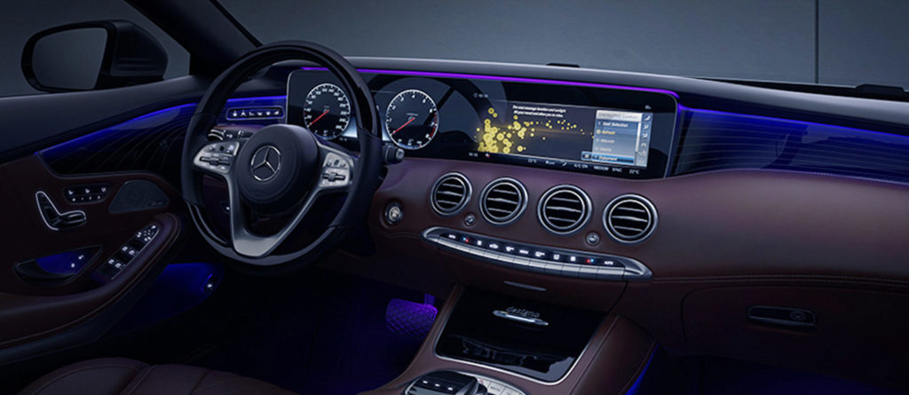 Mercedes-Benz S-Class Cabriolet Interior Ambient Lighting