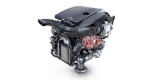 A twin-scroll turbo, Direct Injection engine