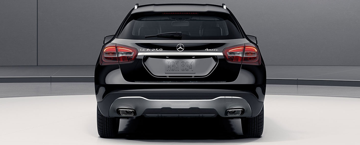 Mercedes Benz GLA SUV rear