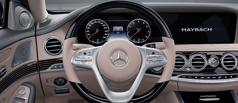 Mercedes Maybach Interior