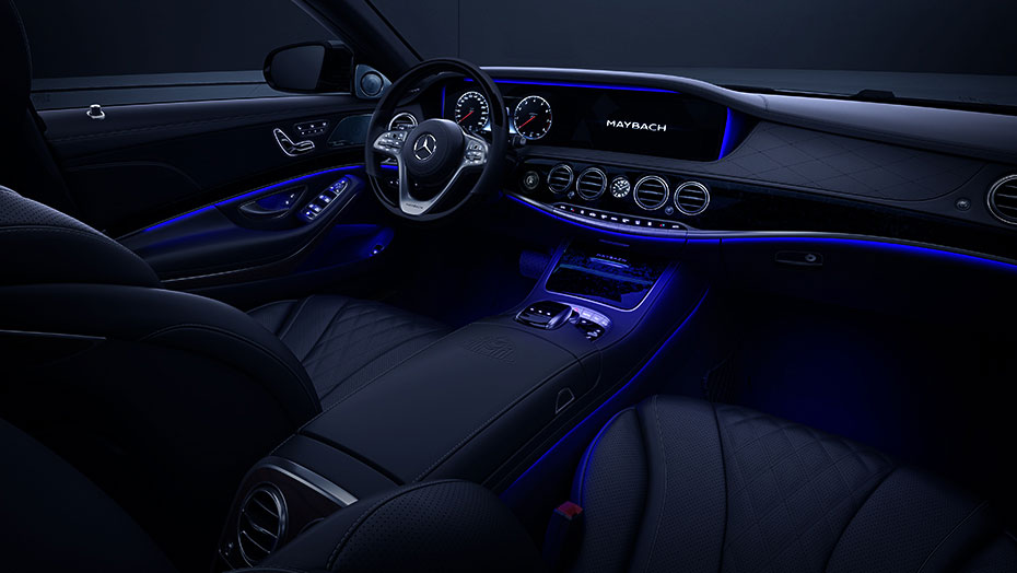 Mercedes Maybach Lighted Interior
